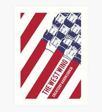 The West Wing Art Print