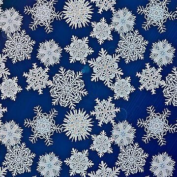 Snowflake Pattern by RoxanneG
