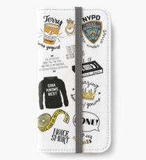 Brooklyn Nine Nine TV Show Art iPhone Wallet/Case/Skin