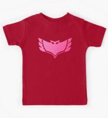 Pj masks Owlette symbol Kids Tee