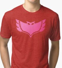 Pj masks Owlette symbol Tri-blend T-Shirt