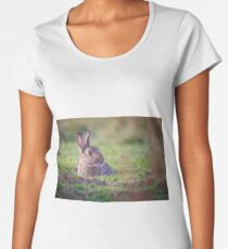 Morning Rabbit Women's Premium T-Shirt