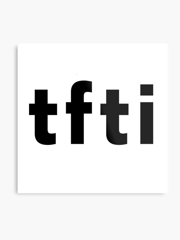 TFTI MEME TEE T-SHIRT\