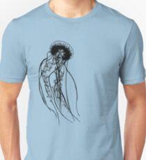 Black Jellyfish Unisex T-Shirt