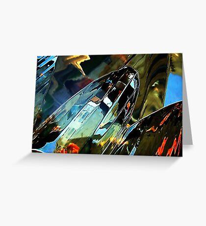 Car light Greeting Card