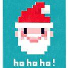 Pixel Santa by Chris Sayer