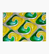 Dishwasher Tabs Photographic Print
