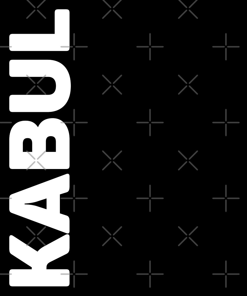 Kabul T-Shirt by designkitsch