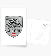 St. Anton Österreich Wappen Postkarten