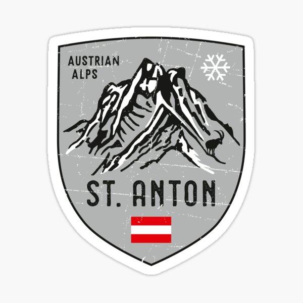 St. Anton Österreich Wappen Sticker