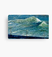 maré....tide Canvas Print
