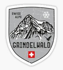 Grindelwald Schweiz Wappen Sticker