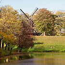 Kastellet Windmill Copenhagen by Mark Baldwyn