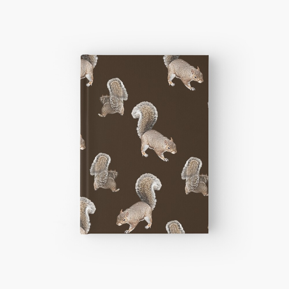 Squirreling Hardcover Journal