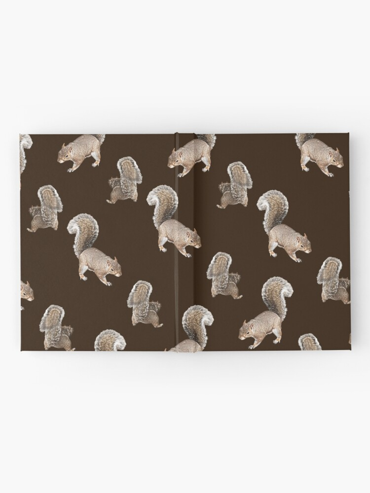 Alternate view of Squirreling Hardcover Journal