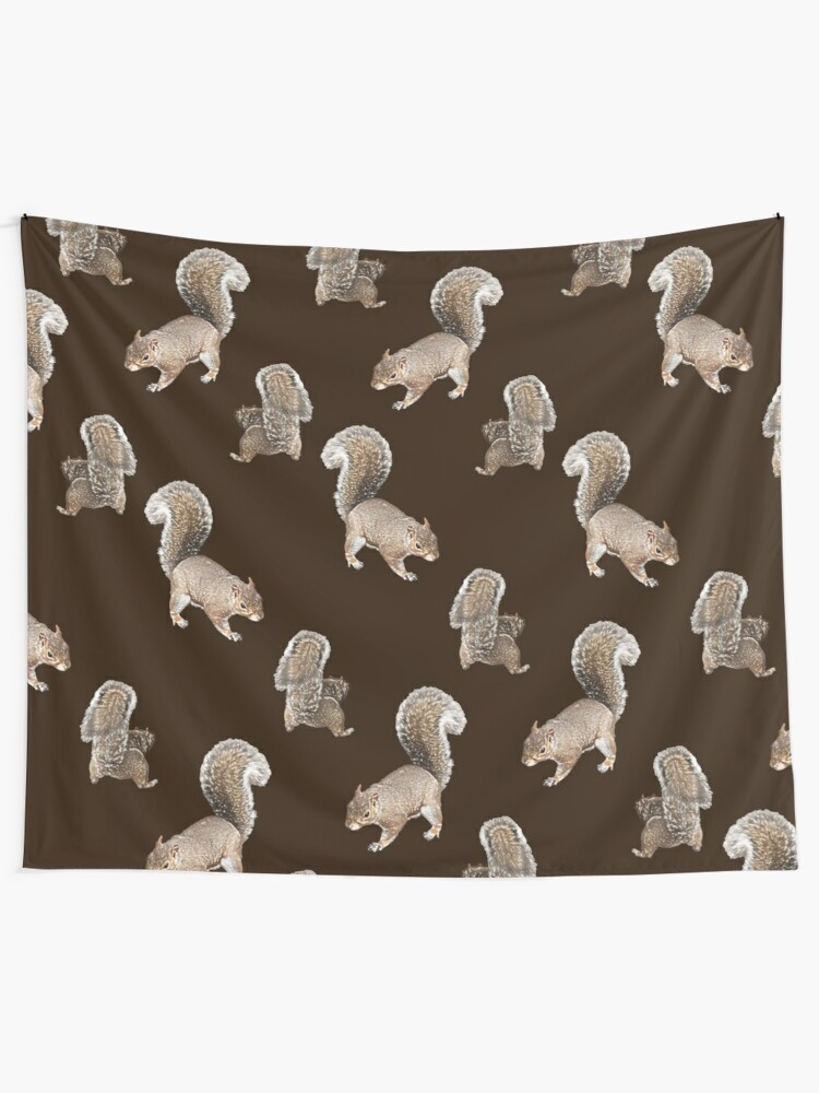 Alternate view of Squirreling Tapestry