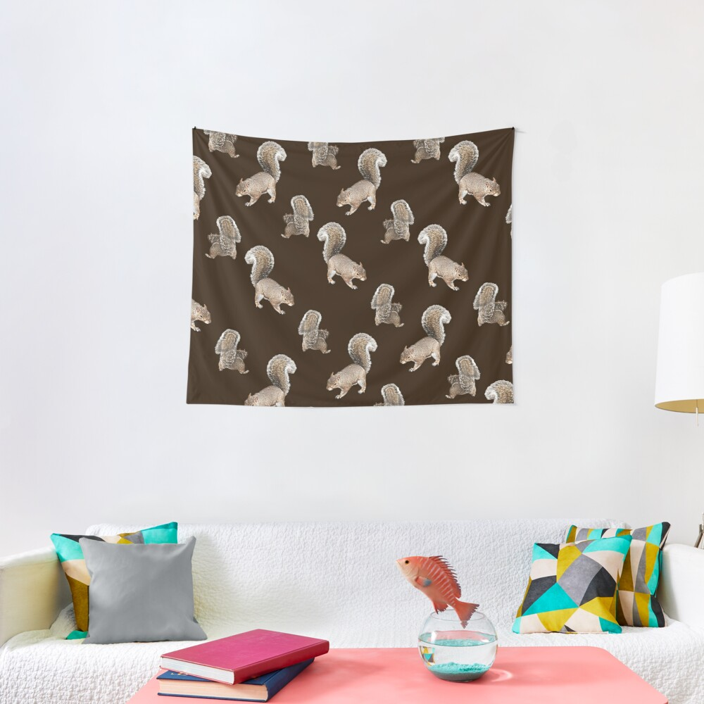 Squirreling Tapestry