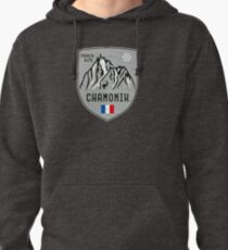 Sudadera con capucha Chamonix Mountain France Emblem