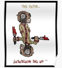 professor wimbly: the victim... or the murderer? (flip edition) Poster