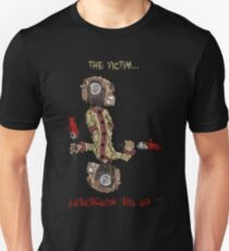 professor wimbly: the victim... or the murderer? (flip edition) T-Shirt