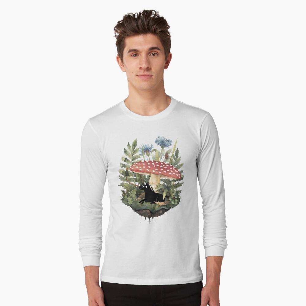 Tiny Unicorn Long Sleeve T-Shirt