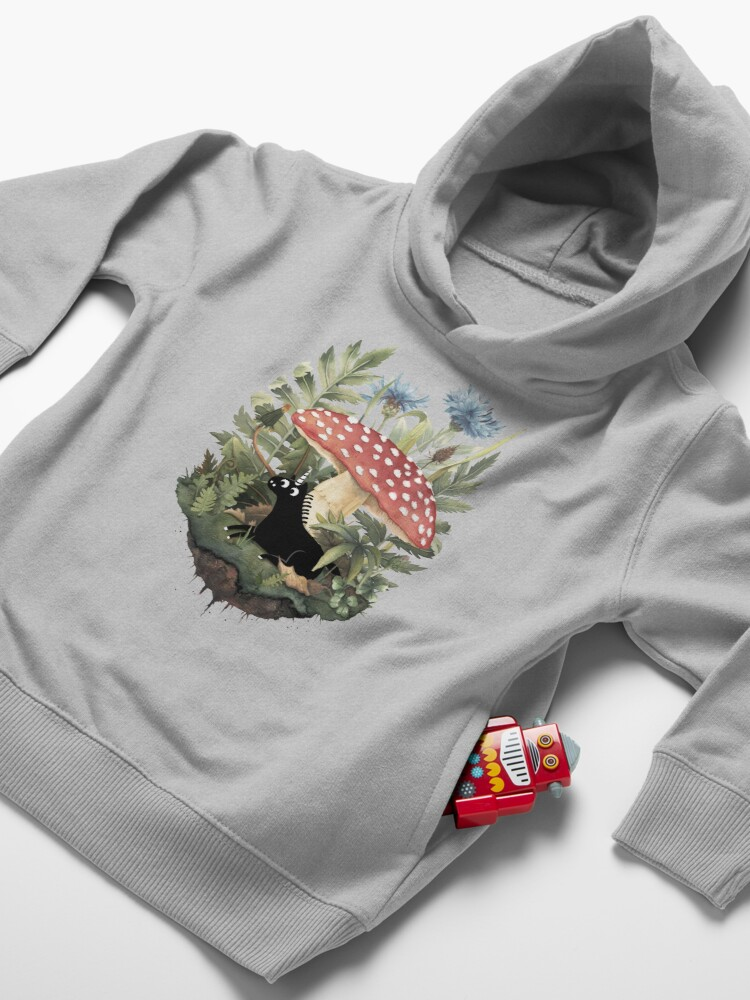 Alternate view of Tiny Unicorn Toddler Pullover Hoodie