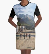 Eureka, Colorado ca 1900 Graphic T-Shirt Dress