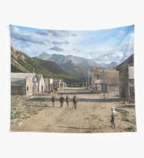 Eureka, Colorado ca 1900 Wall Tapestry