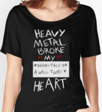 Fall Out Boy Centuries - Heavy Metal Broke My Heart Women's Relaxed Fit T-Shirt