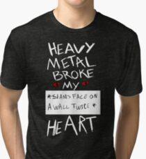 Fall Out Boy Centuries - Heavy Metal Broke My Heart Tri-blend T-Shirt