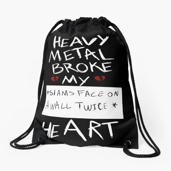 Fall Out Boy Centuries - Heavy Metal Broke My Heart Drawstring Bag