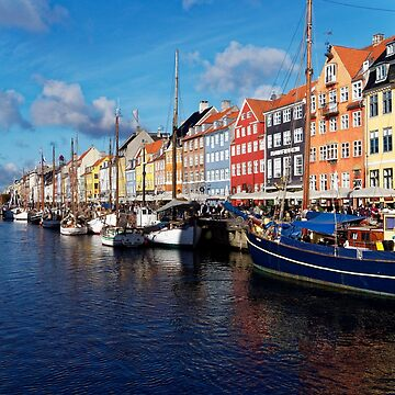 Nyhaven Copenhagen Denmark by obadiah