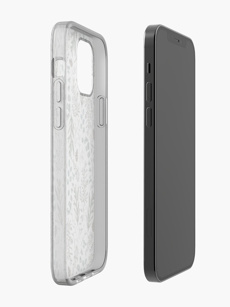 Alternate view of Pine and Eucalyptus Greenery iPhone Case & Cover