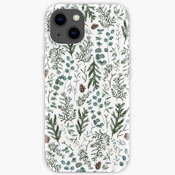 Pine and Eucalyptus Greenery iPhone Soft Case