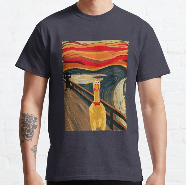 Rubber Chicken Scream Classic T-Shirt
