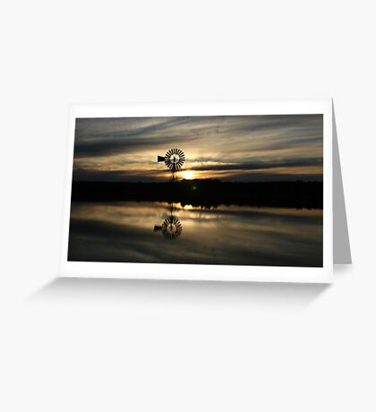 nonowie station sunset Greeting Card