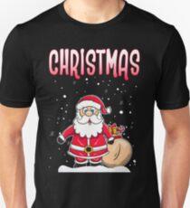 Funny Couple Matching Ugly Christmas Sweatshirts Unisex T-Shirt