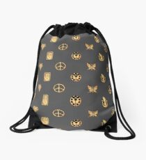 Bizarre Emblems Drawstring Bag