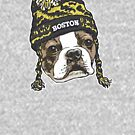Boston Terrier Sports Beanie by MudgeStudios