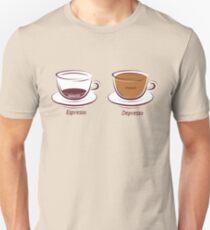 Espresso/Depresso Unisex T-Shirt