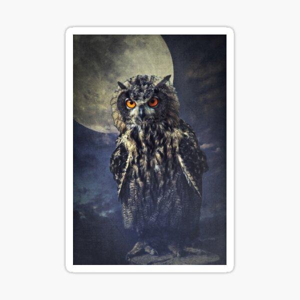 Eagle owl Sticker