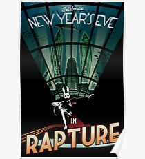 BioShock New Year's in Rapture Poster