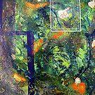 « Fenêtre sur le jardin  » par Francyne Plante
