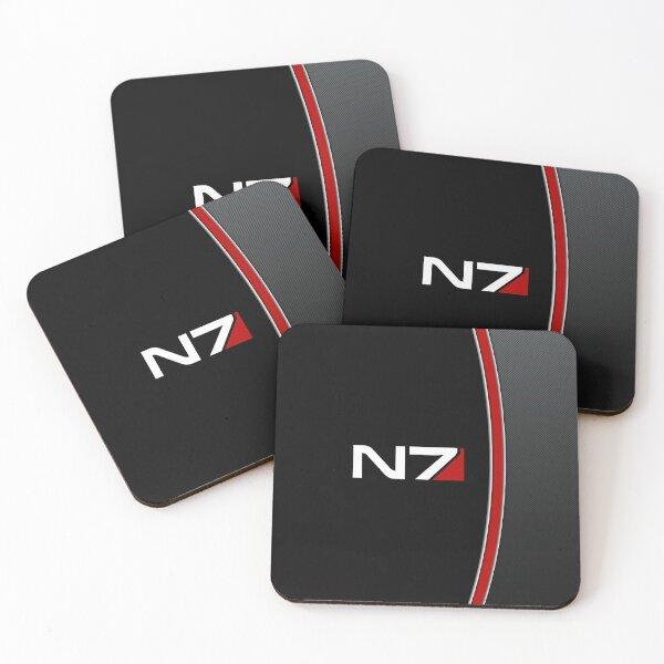 N7 Mass effect emblem! Coasters (Set of 4)