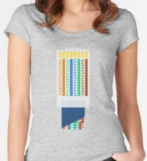 RJ45 - Ethernet Women's Fitted Scoop T-Shirt