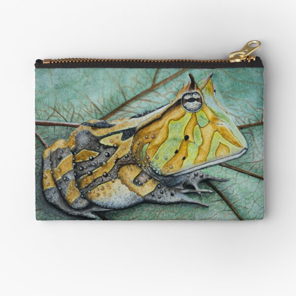Horned Toad Zipper Pouch