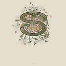 Celtic Initial S by Thoth Adan