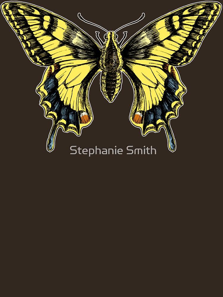 Swallowtail for dark shirts by stephsmith
