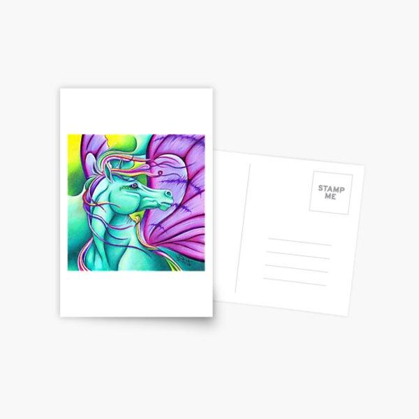 Fae - Fairy Horse Postcard