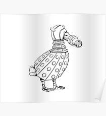 Dalek - Ducktober Poster